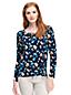Women's Floral Cotton/Modal Top