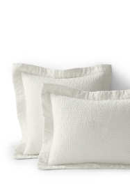 Cotton-Silk Channel Stitched Shams