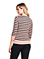 Le Pull Fines Mailles Rayé Manches 3/4, Femme Stature Standard