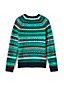 Boys' Fair Isle Crew Neck Jumper