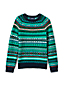 Little Boys' Fair Isle Crew Neck Jumper