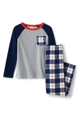 Fleece-Pyjama-Set für Jungen