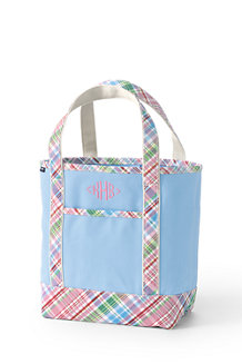 Print Handle Canvas Tote Bag