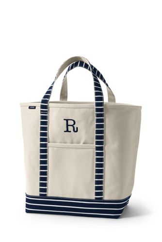 Print Large Open Top Tote