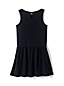 Little Girls' Drop Waist Ponte Jersey Dress