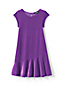 Toddler Girls' Cap Sleeve Velveteen Dress