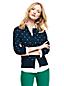 Le Cardigan Fines Mailles Supima Bulles Jacquard, Femme Stature Standard