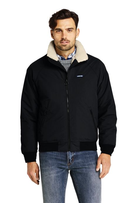 Men's Tall Sherpa Lined Classic Squall Jacket