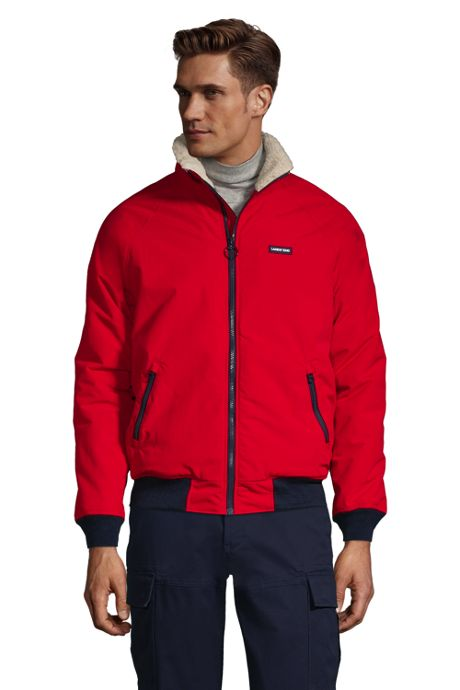 Men's Big and Tall Sherpa Lined Classic Squall Jacket