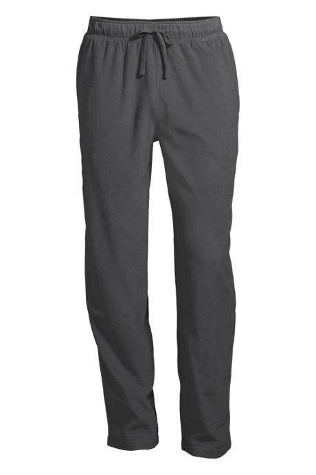 Men's Solid Fleece Pajama Pants
