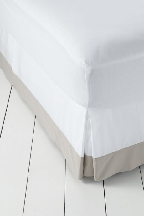 300 Supima Solid Border Bedskirt