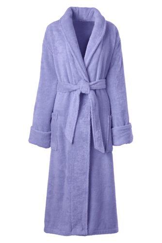 Frottee-Bademantel aus Baumwolle für Damen