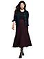 Women's Plus Ponte Jersey Tweed Midi Skirt