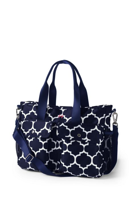 Carryall Print Diaper Bag