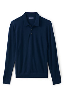 Men's Merino Polo Jumper
