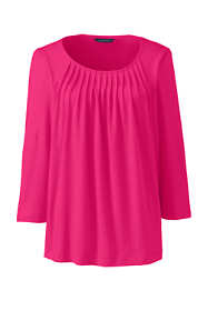 Women's Pleated Front Top