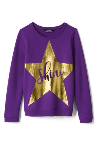 Little Girls' Embellished  Sweatshirt