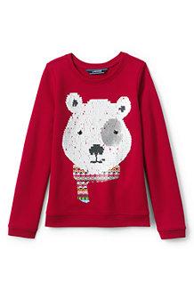 Le Sweatshirt Moelleux Graphique, Fille