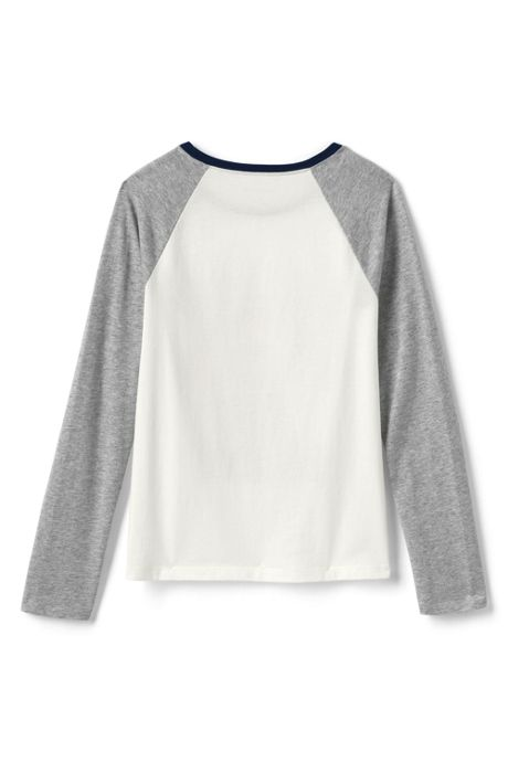 Girls Raglan Graphic Tee