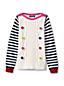 Zopfmuster-Pullover mit Pompoms für kleine Mädchen