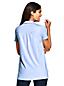 Langes Baumwoll/Modal-Shirt mit Polokragen