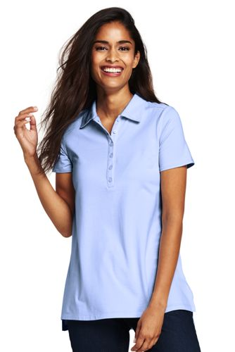 Women's Cotton/Modal Polo Tunic