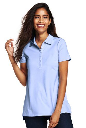 Women's Cotton/Modal Polo Tunic