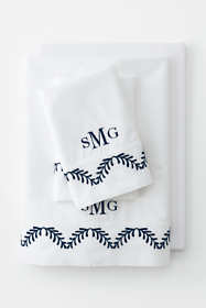 300 Supima Percale Embroidered Pillowcases