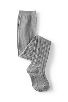 Girls' Cable Knit Tights