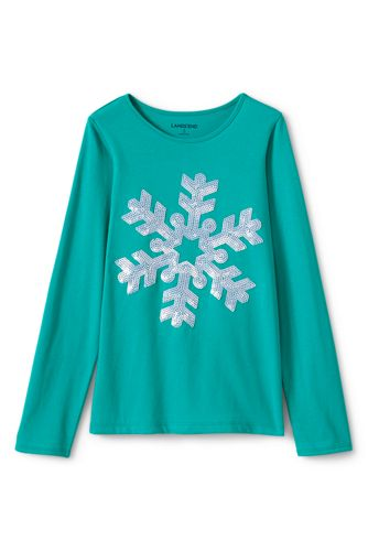 Toddler Girls' Embellished Graphic Tee