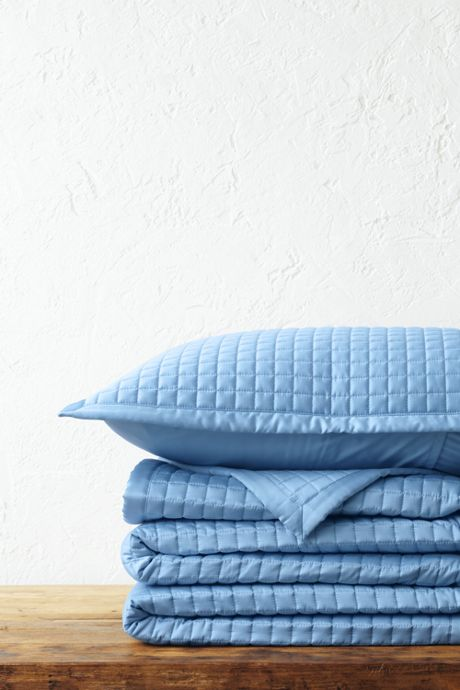 400 Supima No Iron Quilted Coverlet