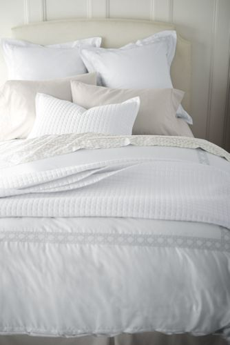 Merveilleux 400 Supima No Iron Quilted Coverlet