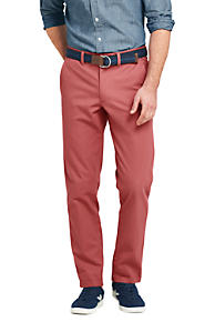 Outlet Classic Mens Straight Fit Everyday Chinos - 30 - RED Lands End Find Great For Sale 8kffJ