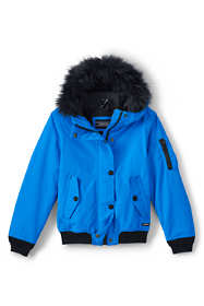 Little Girls Squall Bomber Jacket