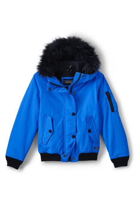 Little Girls Squall Bomber Jacket