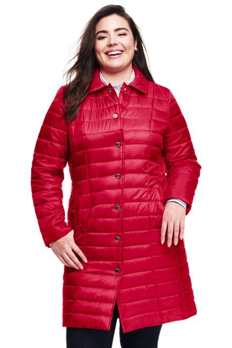 Women's Plus Size Petite Lightweight Primaloft Coat