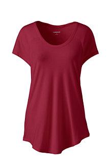 Le T-Shirt en Bambou Stretch, Femme