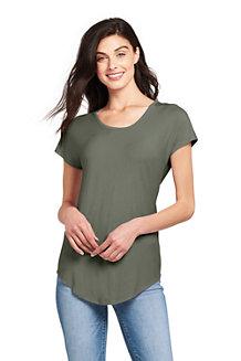 Le T-Shirt en Jersey Stretch, Femme