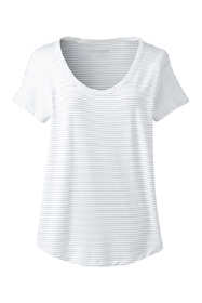 Women's Tall Jersey U-neck T-shirt