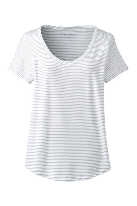 Women's Jersey U-neck T-shirt