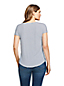 Le T-Shirt Rayé en Viscose Stretch, Femme Stature Standard