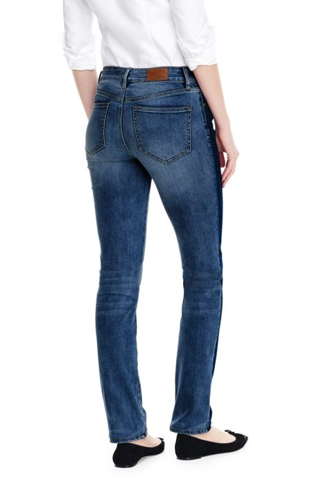Women's Not-Too-Low Rise Slim Leg Jeans