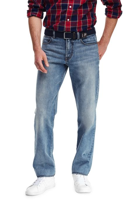 Men's Ring Spun Straight Fit Jeans