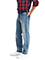Straight Fit Denim-Jeans für Herren, in Wunschlänge