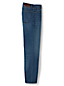 Vorgesäumte Straight Fit Denim-Jeans für Herren
