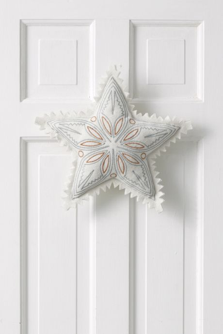 Oversized Felt Decorative Christmas Star