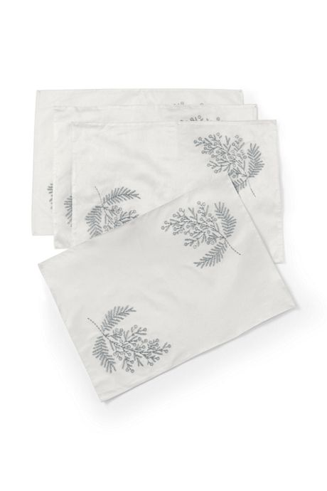 Sprig Embroidered Placemats (Set of 4)