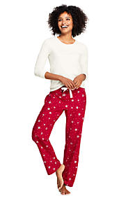 964a1a5a5e Women s Knit Flannel Pajama Set