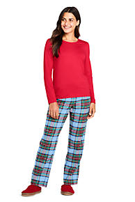 Women's Flannel Pajamas & Robes