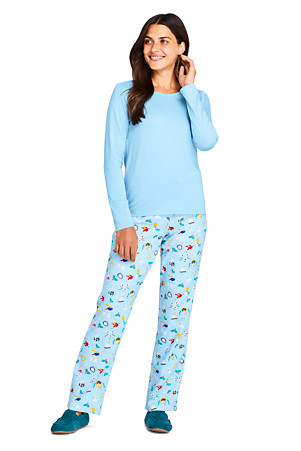 Smiley World Girls Be Yourself 4 Piece Pant Pajama Set